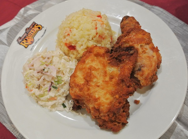 Kenny Rogers Unfried Fried Chicken 1