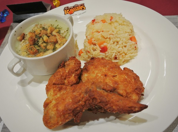 Kenny Rogers Unfried Fried Chicken 4