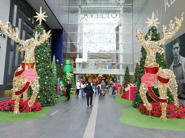 Pavilion kl christmas promotional giveaways