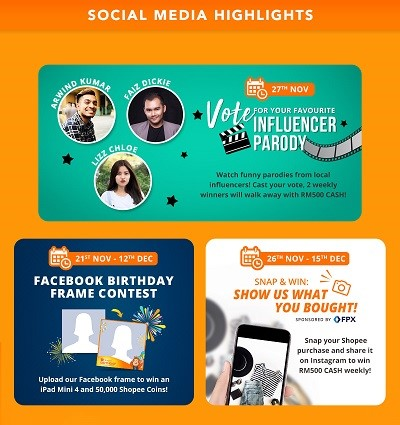 Shopee Celebrates Birthday With Massive Promotions! - Let's Roll