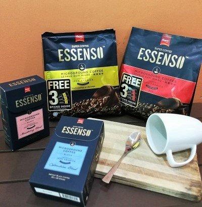 ESSENSOMICROGROUND COFFEE