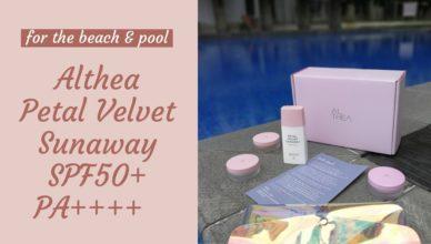 Petal Velvet Sunaway SPF 50+ PA++++