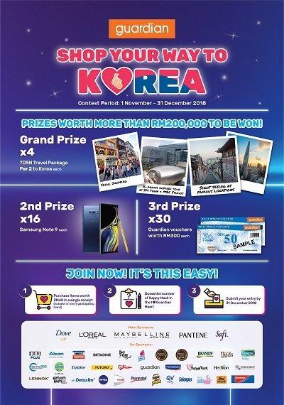 Guardian Shop Your Way To Korea