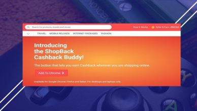 ShopBack CashBack Buddy MP
