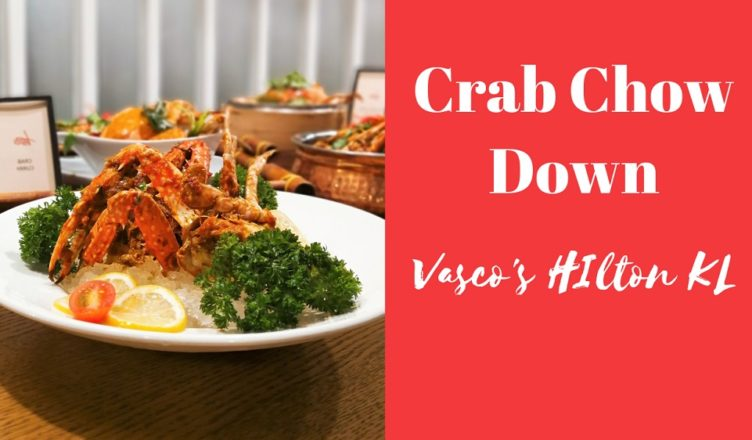 Roll With Carol Crab Chow Down Vasco's Hilton MP