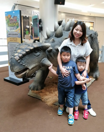 Roll with Carol - Dinosaurs Alive