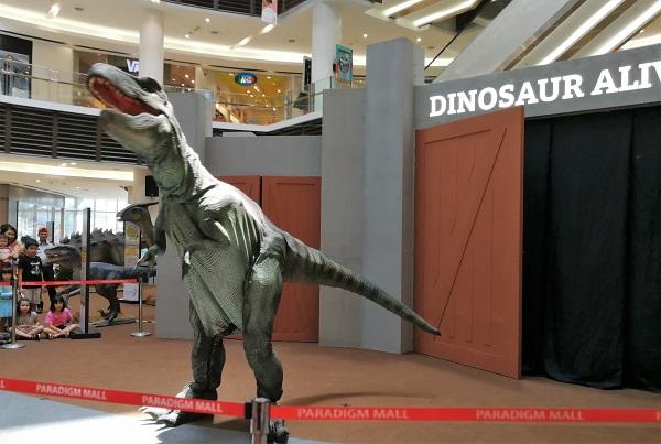 Roll With Carol Paradigm Dinosaurs Alive 16