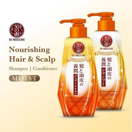 50 Megumi Nourishing Hair & Scalp (moist)