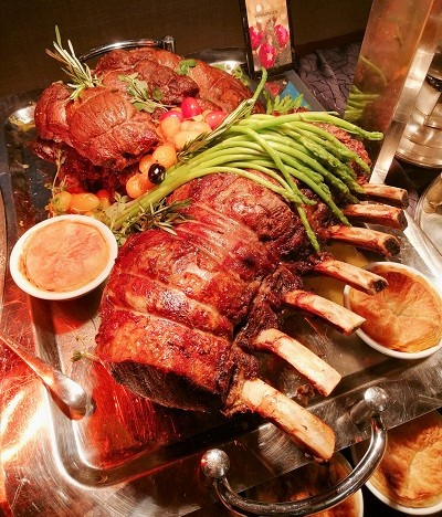 PJ Hilton Christmas Dinner 14