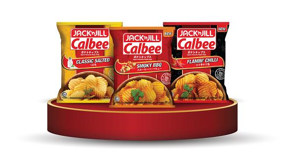 Jack 'n Jill Calbee Chips