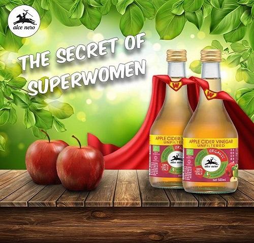 Alce Nero Apple Cider Vinegar 2