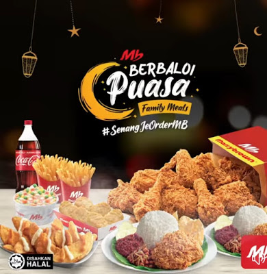 Marrybrown Berbaloi Puasa Meals