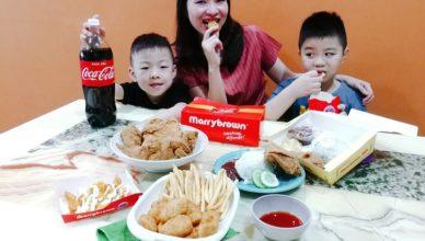 MarryBrown Berbaloi Puasa Meals