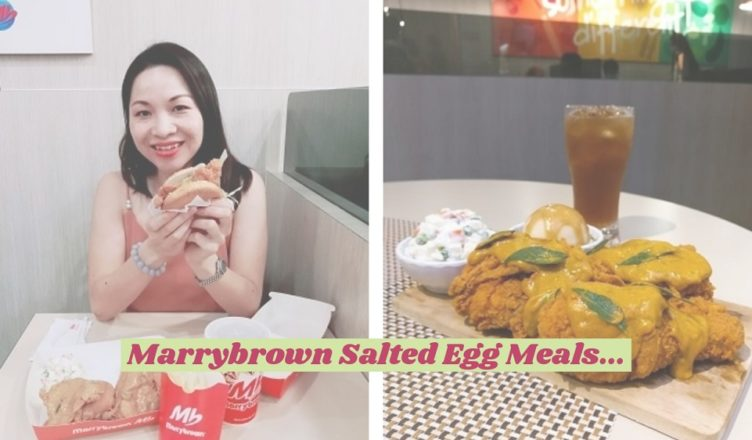 Marrybrown Salted Egg Meals MP