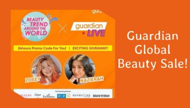 Guardian Global Beauty Sale