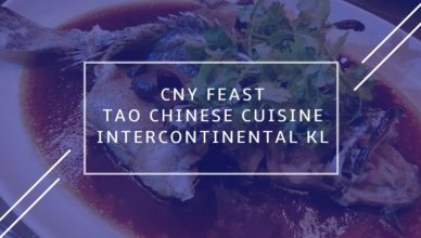 Tao Chinese Cuisine InterContinental KL MP